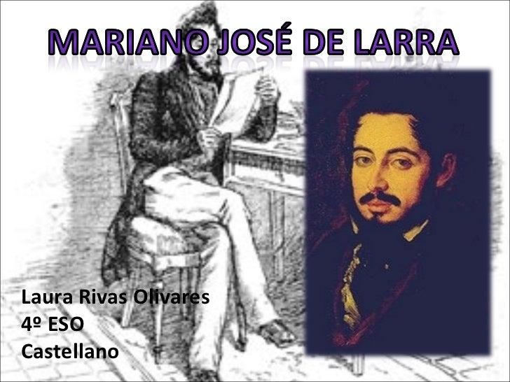 Laura Rivas Olivares 4º ESO Castellano