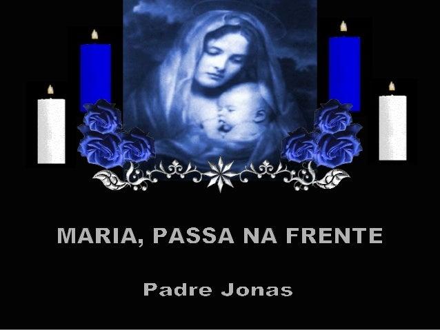 Como Mãe, mas também é a Porteira,abrirá os corações das pessoas e as portas pelo caminho.          É só pedir para Ela pa...