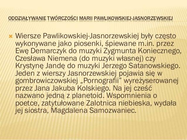 Maria Pawlikowska Jasnorzewska