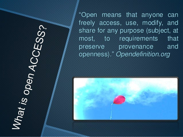 Open educational resource: No fee, no subscriptions, no tuition, no registrations, no obligations-> No cost for the user o...