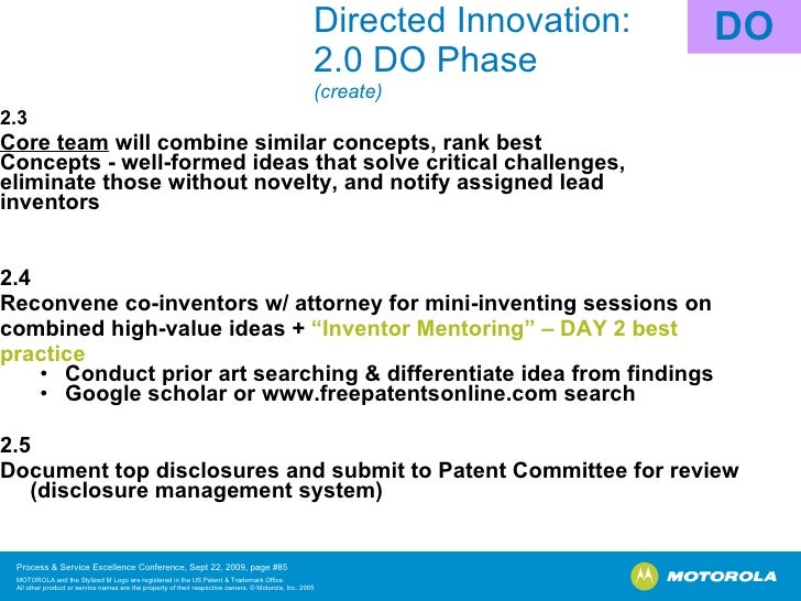 disclosure innovations.mot.com meeting