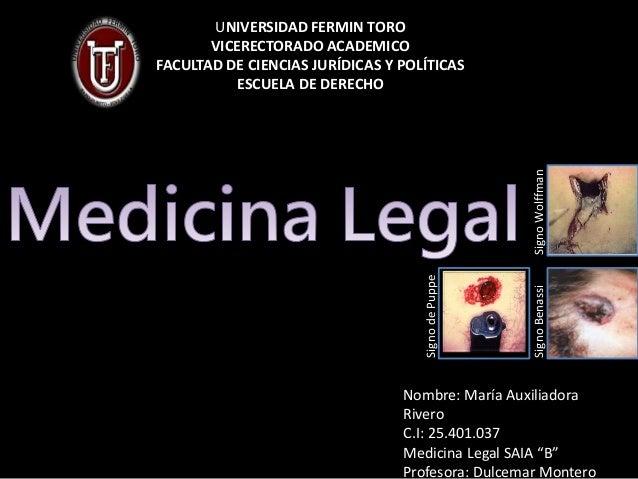 UNIVERSIDAD FERMIN TORO VICERECTORADO ACADEMICO FACULTAD DE CIENCIAS JURÍDICAS Y POLÍTICAS ESCUELA DE DERECHO Nombre: Marí...