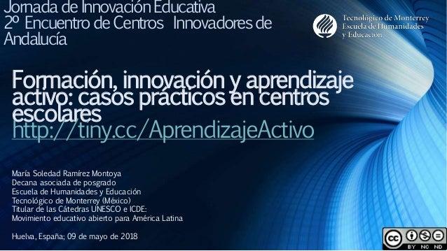 María Soledad Ramírez Montoya Decana asociada de posgrado Escuela de Humanidades y Educación Tecnológico de Monterrey (Méx...