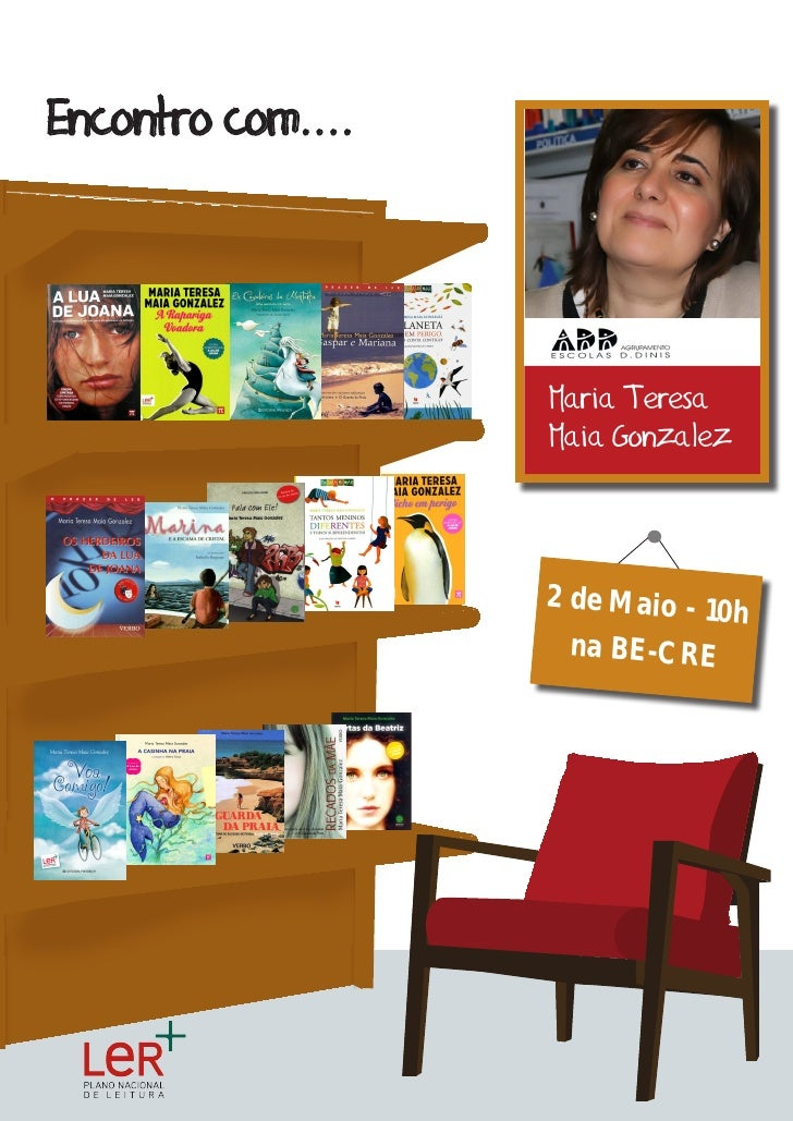 Encontro com....                   Maria Teresa                   Maia Gonzalez                   2 de Maio - 10          ...