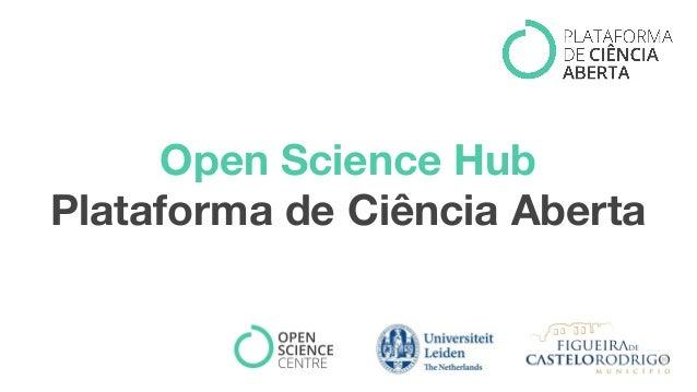Open Science Hub Plataforma de Ciência Aberta