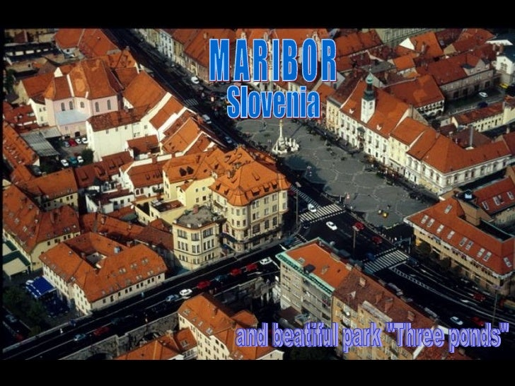 "MARIBOR and beatiful park ""Three ponds"" Slovenia"