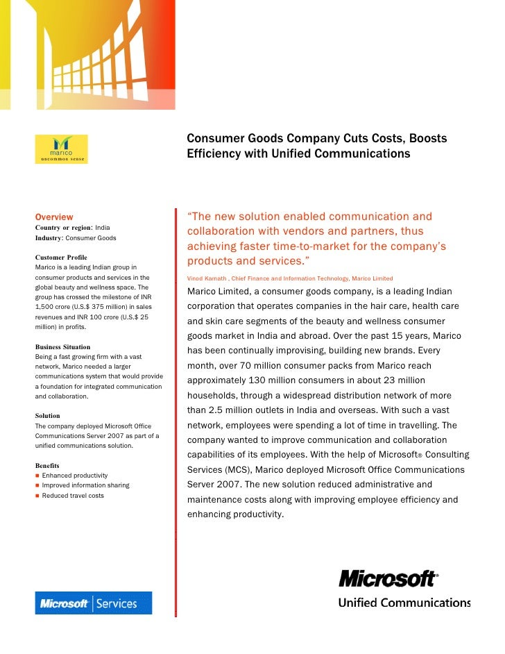 Microsoft Office System                                             Customer Solution Case Study                          ...