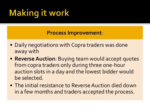 copra business plan