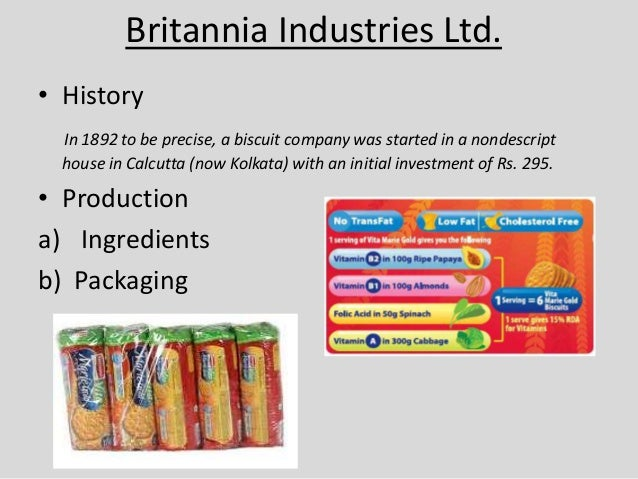 Parle Marie • History • Production a) Ingredients b) Packaging • Pricing • Advertisement • Unique selling proposition (USP...
