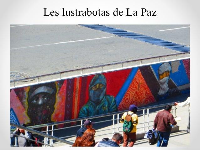 Les lustrabotas de La Paz