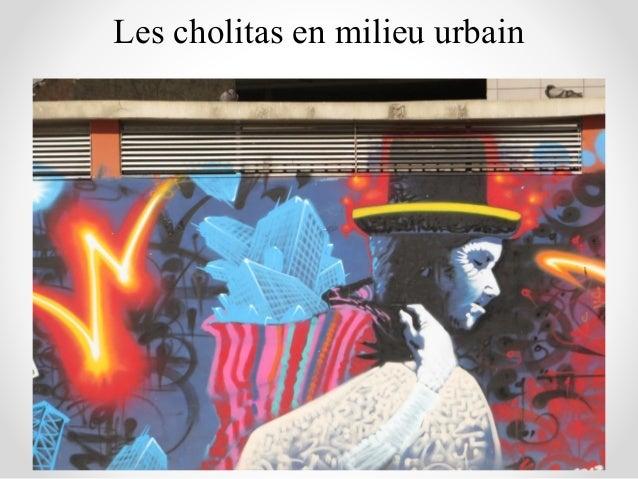 Les cholitas en milieu urbain
