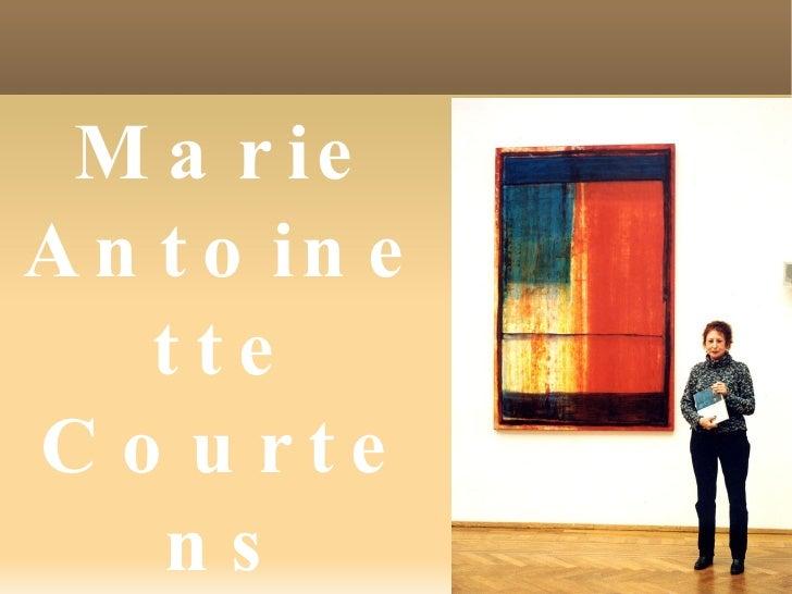 Marie Antoinette Courtens