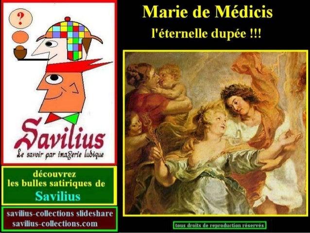 Marie de Médicis la dupée