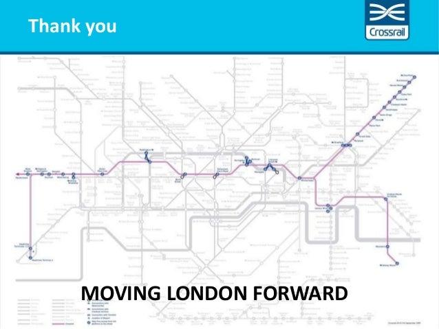 MOVING LONDON FORWARD Thank you