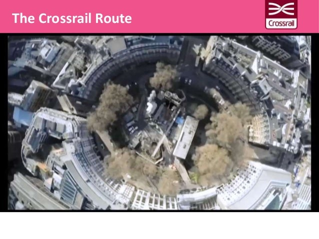 The Crossrail Route