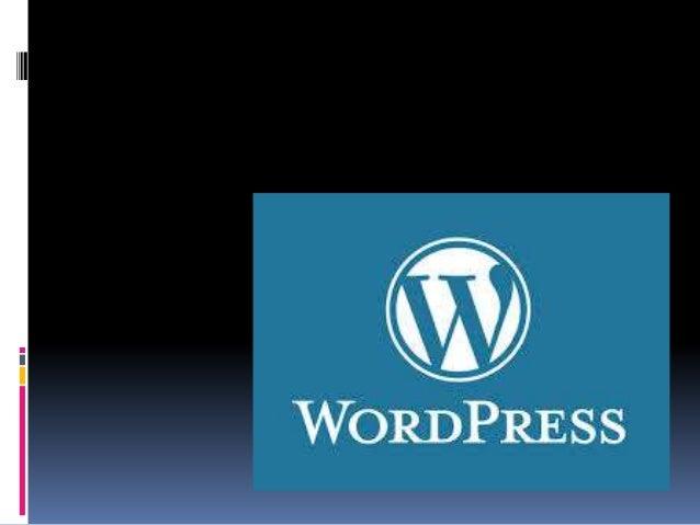 Que es Word press  es un sistema de gestión de contenido CMS enfocado a la creación de bitácoras web (sitios web periódic...
