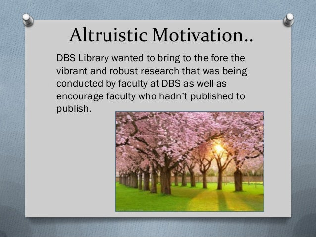 DBS Library wanted to bring to the fore the vibrant and robust research that was being conducted by faculty at DBS as well...
