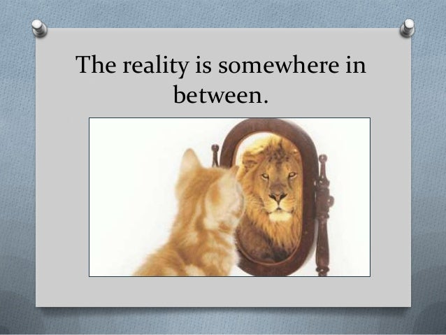 The reality is somewhere in between.