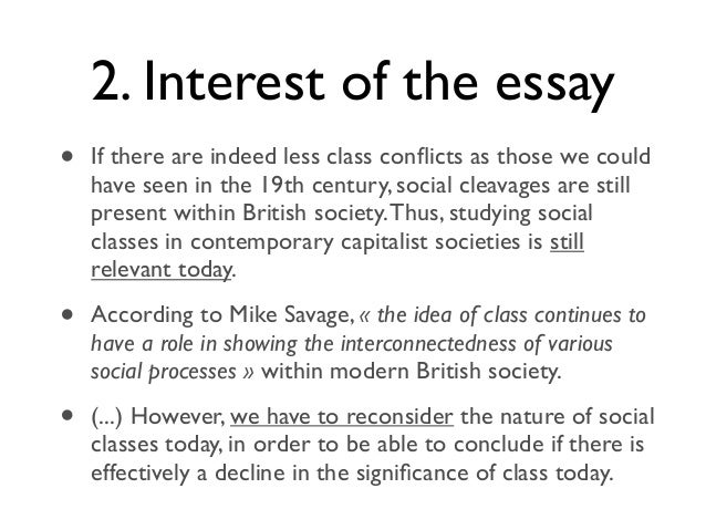 social class in canada essay Jpae 17(2), 187–208 journal of public affairs education 187 social class and socioeconomic status: relevance and inclusion in mpa-mpp programs heather wyatt-nichol and samuel brown university of baltimore.