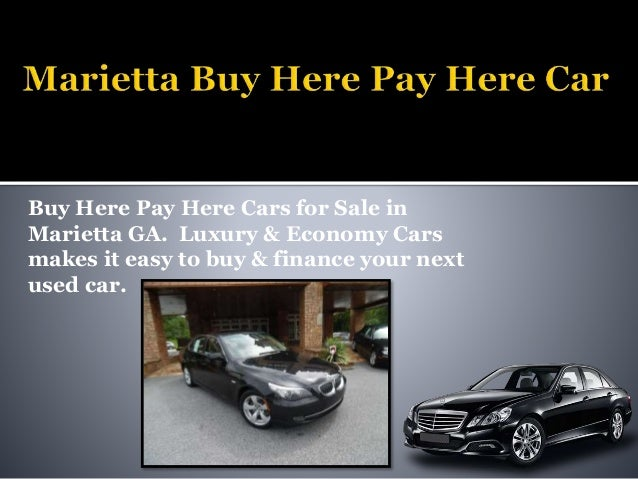 Marietta Buy Here Pay Here Car