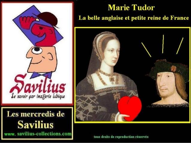 Marie Tudor la belle anglaise