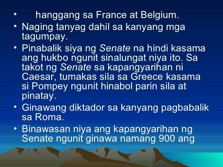 <ul><li>hanggang sa France at Belgium. </li></ul><ul><li>Naging tanyag dahil sa kanyang mga tagumpay. </li></ul><ul><li>Pi...