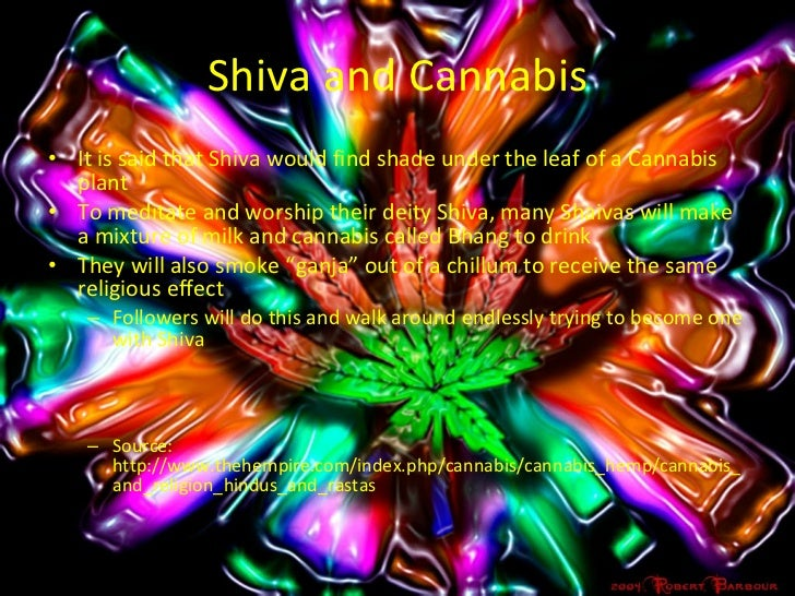 Marijuana In Rastafarian And Shiva Culture