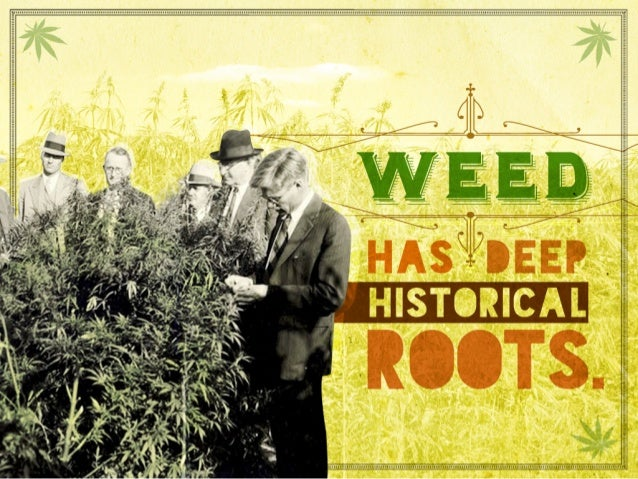 Weed has deep historical roots.