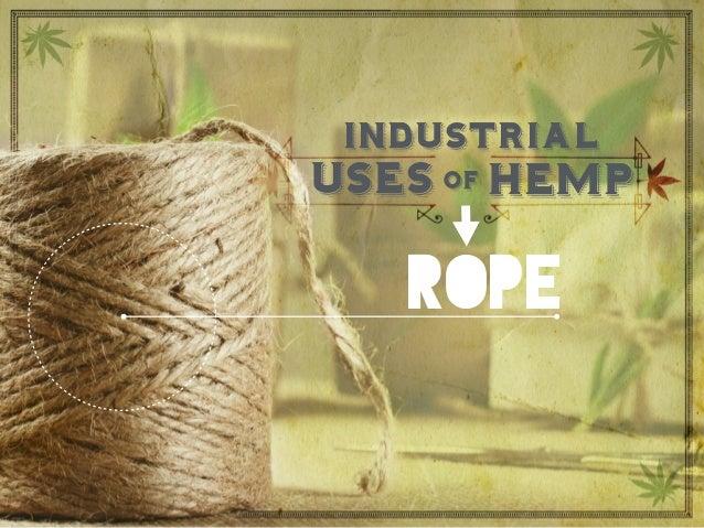 rope uses hempof industrial