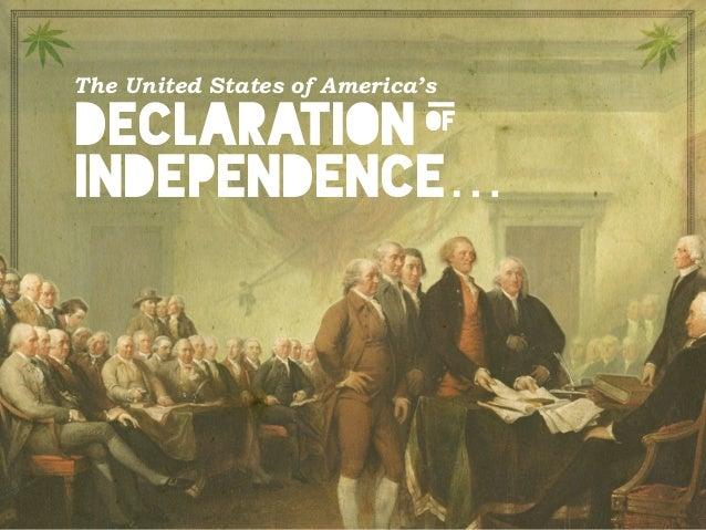 The United States of America's declaration independence… of