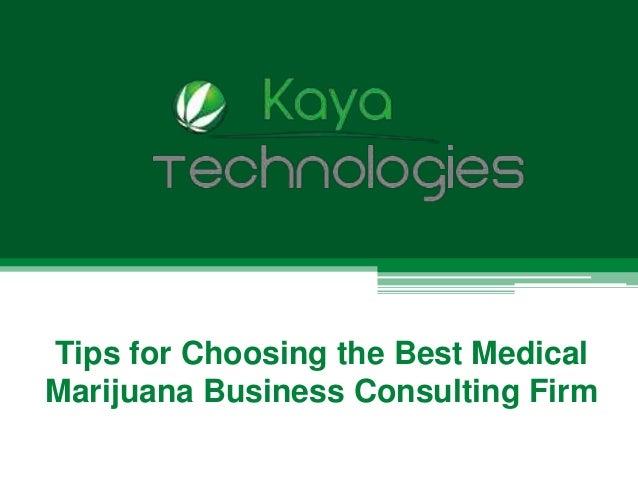 Technology Management Image: Tips For Choosing The Best Medical Marijuana Business