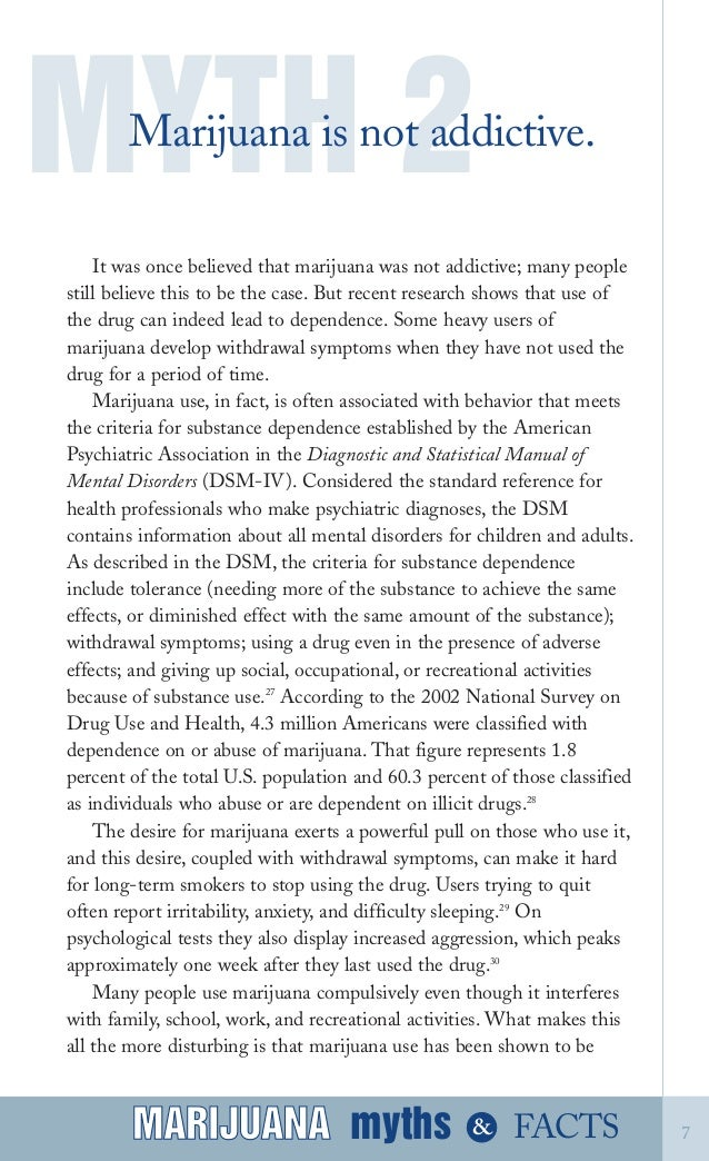 facts and myths about marijuana Marijuana myths marijuana facts: a review of the scientific evidence [lynn zimmer, john p morgan] on amazoncom free shipping on qualifying offers physical description xv, 241 pages  23 cm notes includes bibliographic references and index.