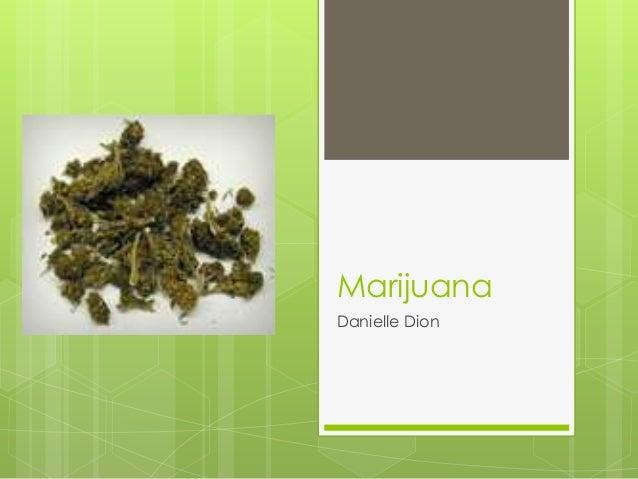 Marijuana Danielle Dion