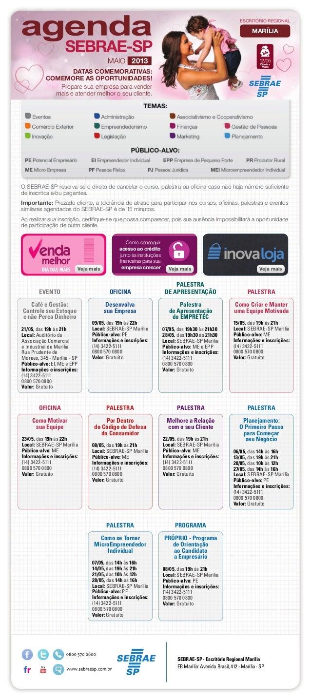 Café e Gestão:Controle seu Estoquee não Perca Dinheiro21/05, das 19h às 21hLocal: Auditório daAssociação Comerciale Indust...