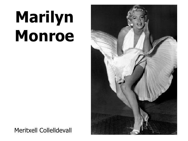 Marilyn Monroe Meritxell Collelldevall