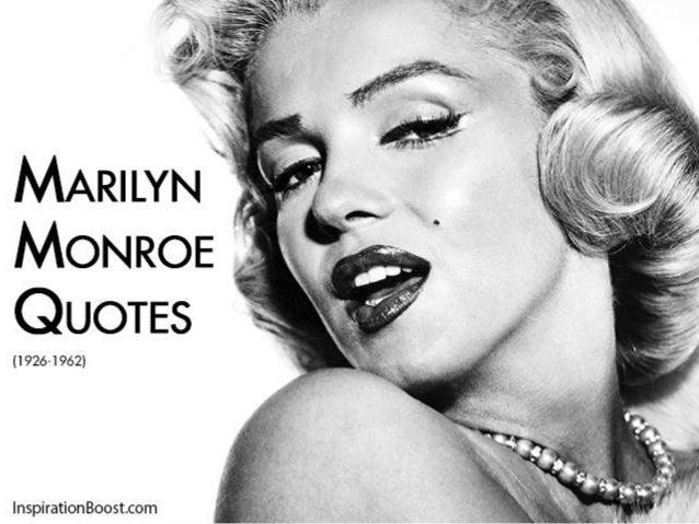 marilyn monroe quote ldquo i - photo #9