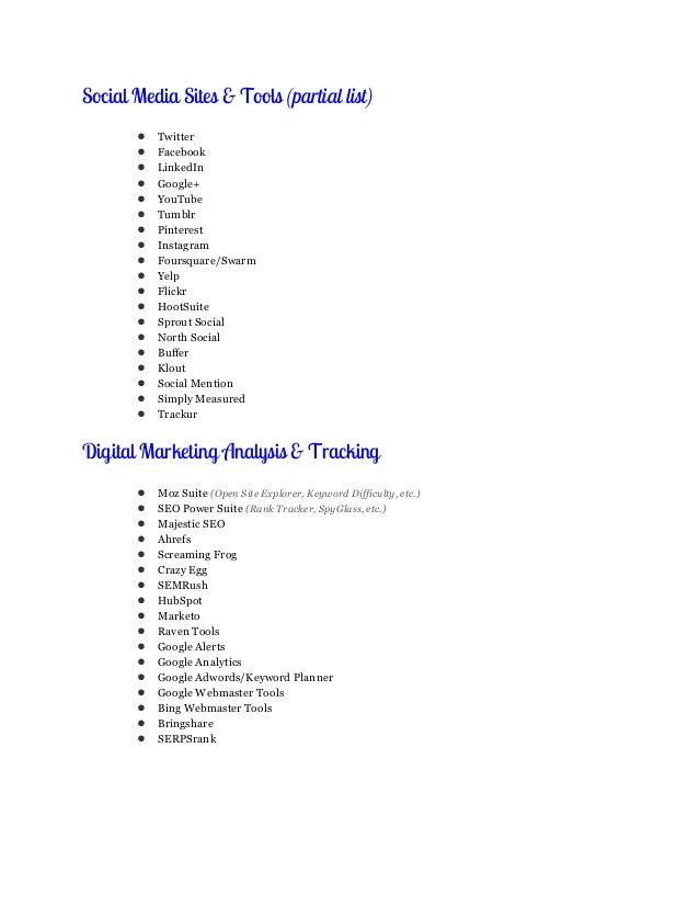 Cover Letter Digital Marketing Online Marketer And Social Media Matthew  Woodward Business Development Resume Example  Digital Media Resume
