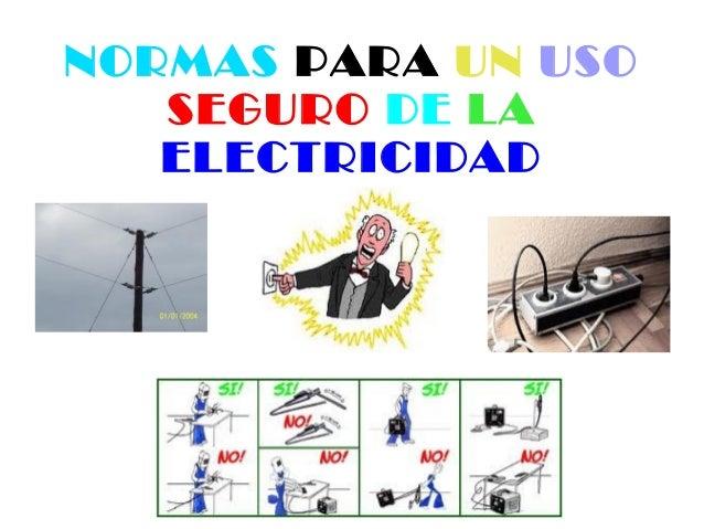 Marina  Uso Seguro De La Electricidad