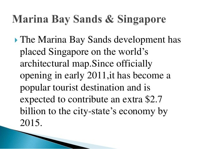 swot analysis of marina bay sands Singapore experience awards: the business times in depth - marina bay  sands, which has transformed singapore's skyline since its opening in 2010 and .