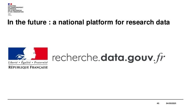 French National Open Access Policy