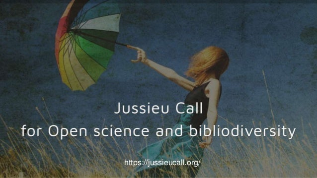 """Jussieu Call for Open science and bibliodiversity 04/05/2021 10 1 """"Open Access must be complemented by support for the div..."""