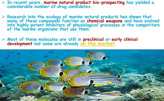 Ecology Of Marine Natural Products