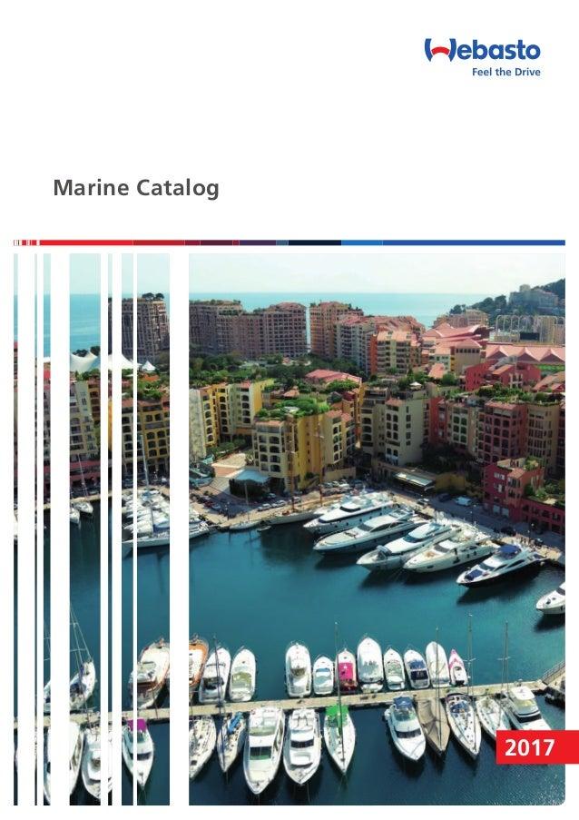 WEBASTO Marine catalog 2017