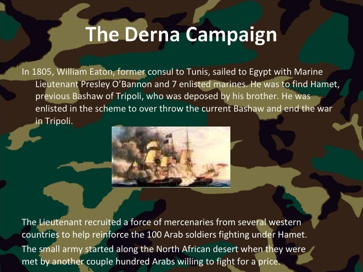 Image result for us marines capture the city derna in 1805
