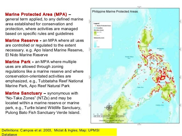 Marine Reserves in the Philippines: Challenges, Success ...  Marine Reserves...