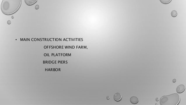 Marine and offshore construction equipments Slide 3
