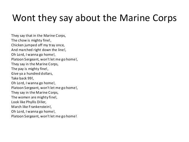 USMC History Traditions and Merchandise Marine Corps Cadences