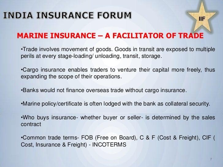 marine cargo insurance clauses pdf
