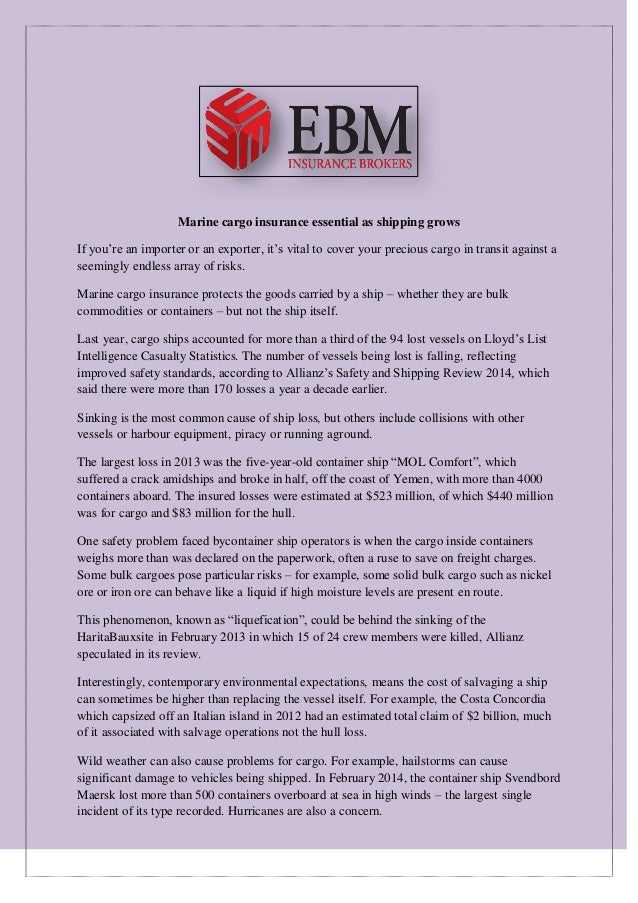 Marine Liability Insurance in Australia