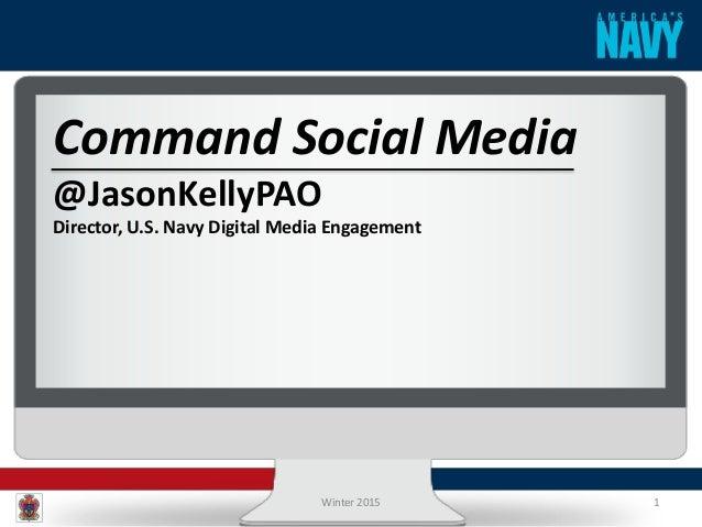 Us Navy Social Media Landscape Overview